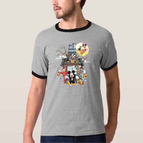Mickey and Friends Haunted House T_Shirt