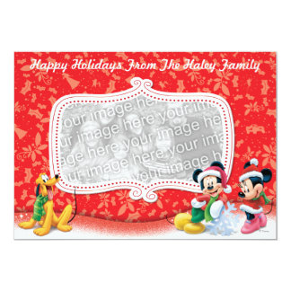 Mickey and Friends Holiday Card