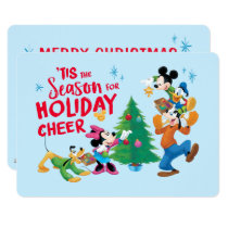 Mickey and Friends | Holiday Cheer - 3 Photos Card