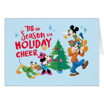 Mickey and Friends | Holiday Cheer Card