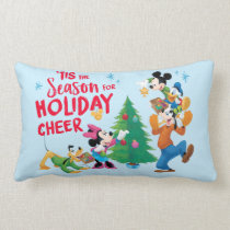 Mickey and Friends | Holiday Cheer Lumbar Pillow