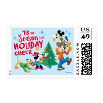 Mickey and Friends | Holiday Cheer Postage