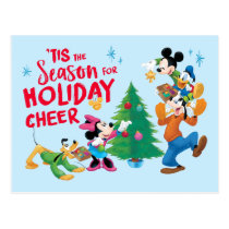 Mickey and Friends | Holiday Cheer Postcard