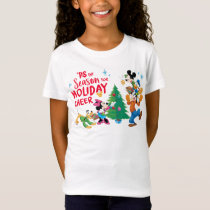 Mickey and Friends | Holiday Cheer T-Shirt