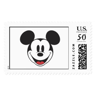 Mickey and Friends logo Postage