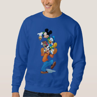Mickey And Friends | Mickey Decorating The Tree Sweatshirt
