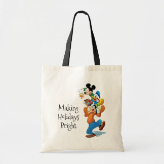 Mickey And Friends | Mickey Decorating The Tree Tote Bag