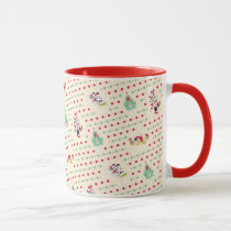 Mickey and Friends | Retro Christmas Pattern Mug