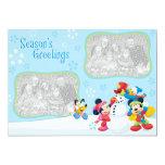 "Mickey and Friends: Season's Greetings Card 5"" X 7"" Invitation Card"
