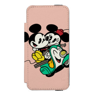 Mickey and Minnie 2 Incipio Watson™ iPhone 5 Wallet Case