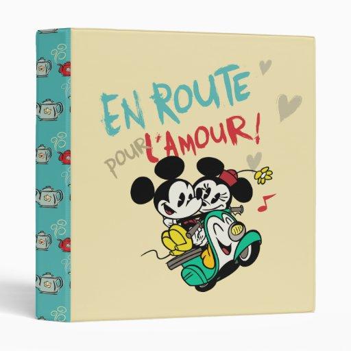 Mickey and Minnie En Route Binders