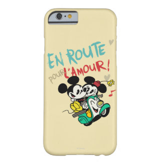 Mickey and Minnie En Route Barely There iPhone 6 Case