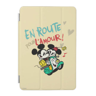 Mickey and Minnie En Route iPad Mini Cover