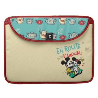 Mickey and Minnie En Route MacBook Pro Sleeves
