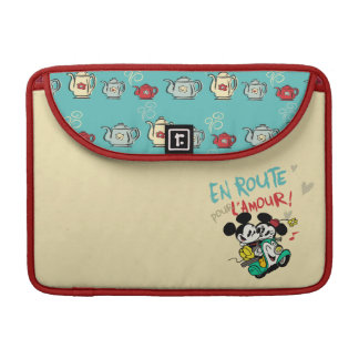 Mickey and Minnie En Route Sleeves For MacBook Pro