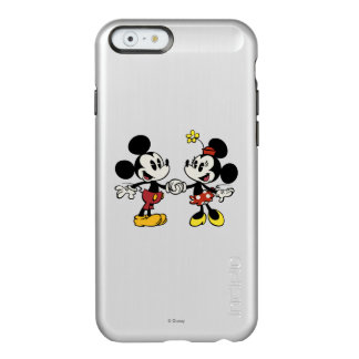 Mickey and Minnie Holding Hands Incipio Feather Shine iPhone 6 Case