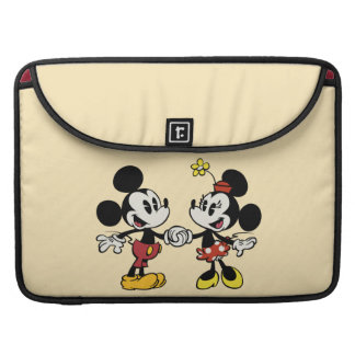 Mickey and Minnie Holding Hands Sleeve For MacBook Pro