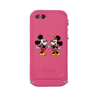 Mickey and Minnie Holding Hands Waterproof Case For iPhone SE/5/5s