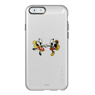 Mickey and Minnie  Holding Hands Incipio Feather® Shine iPhone 6 Case