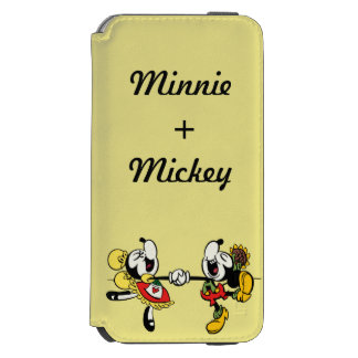 Mickey and Minnie  Holding Hands Incipio Watson™ iPhone 6 Wallet Case
