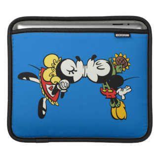 Mickey and Minnie  Kissing Sleeves For iPads