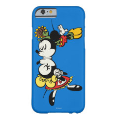 Mickey and Minnie  Kissing iPhone 6 Case
