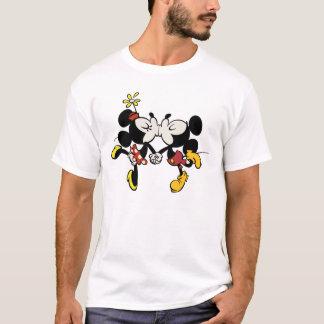 Mickey and Minnie Kissing T-Shirt