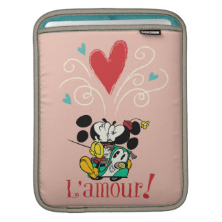 Mickey and Minnie L'amour! iPad Sleeves