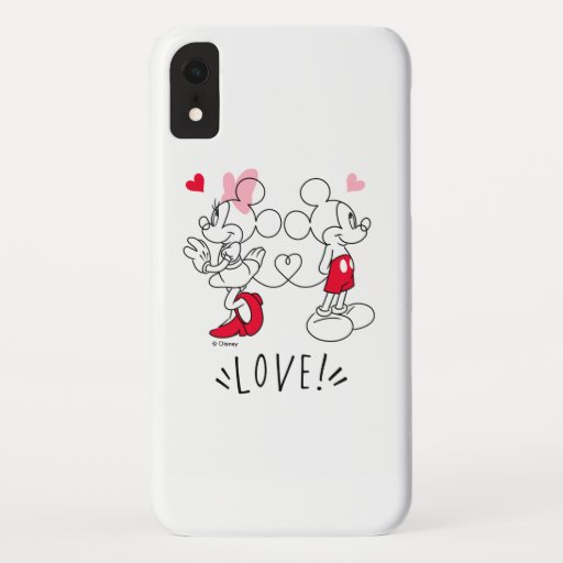 Mickey and Minnie | Valentine's Day Love iPhone XR Case