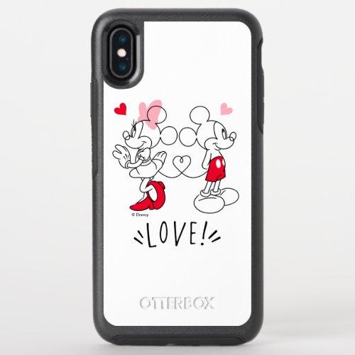 Mickey and Minnie | Valentine's Day Love Phone Case