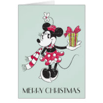 Mickey and Minnie | Vintage Christmas Pattern Card
