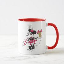 Mickey and Minnie | Vintage Christmas Pattern Mug