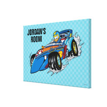 Mickey and the Roadster Racers | Donald Canvas Print
