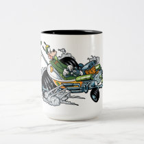Mickey and the Roadster Racers | Goofy Two-Tone Coffee Mug
