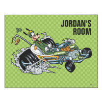 Mickey and the Roadster Racers | Goofy Wood Wall Art