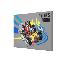 Mickey and the Roadster Racers | Mickey 28 Canvas Print