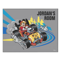 Mickey and the Roadster Racers | Mickey 28 Wood Wall Art