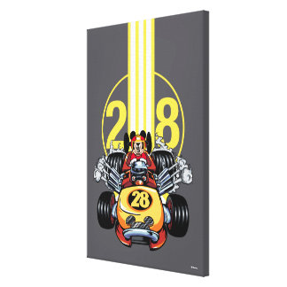 Mickey and the Roadster Racers | Mickey Canvas Print
