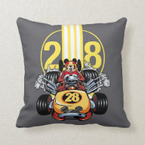 Mickey and the Roadster Racers | Mickey Throw Pillow