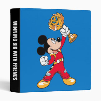Mickey and the Roadster Racers | Mickey & Trophy 3 Ring Binder