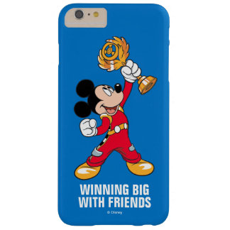 Mickey and the Roadster Racers | Mickey & Trophy Barely There iPhone 6 Plus Case