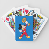 Mickey and the Roadster Racers | Mickey & Trophy Bicycle Playing Cards
