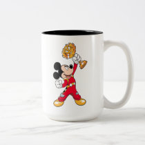Mickey and the Roadster Racers | Mickey & Trophy Two-Tone Coffee Mug