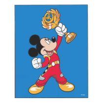 Mickey and the Roadster Racers | Mickey & Trophy Wood Print
