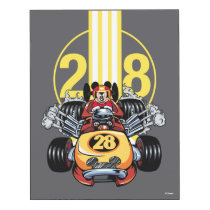 Mickey and the Roadster Racers | Mickey Wood Print