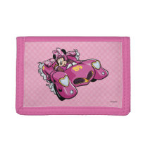 Mickey and the Roadster Racers | Minnie Tri-fold Wallets