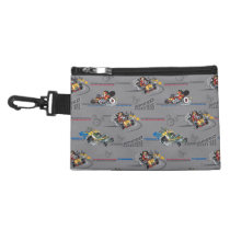 Mickey and the Roadster Racers Pattern Accessory Bags