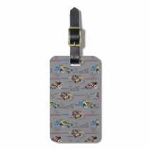 Mickey and the Roadster Racers Pattern Bag Tag