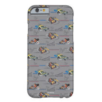 Mickey and the Roadster Racers Pattern Barely There iPhone 6 Case