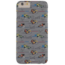 Mickey and the Roadster Racers Pattern Barely There iPhone 6 Plus Case